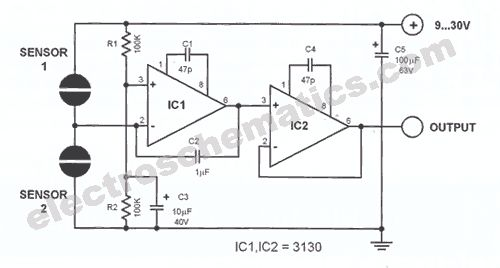 Touch Volume Control Circuit