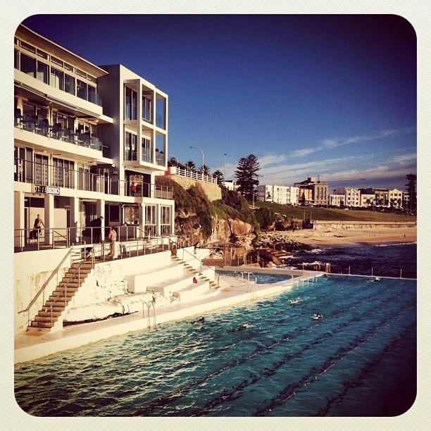 Bondi Icebergs Beckons... #bondi #beach #icebergs #atbondi #sydney #australia #pool