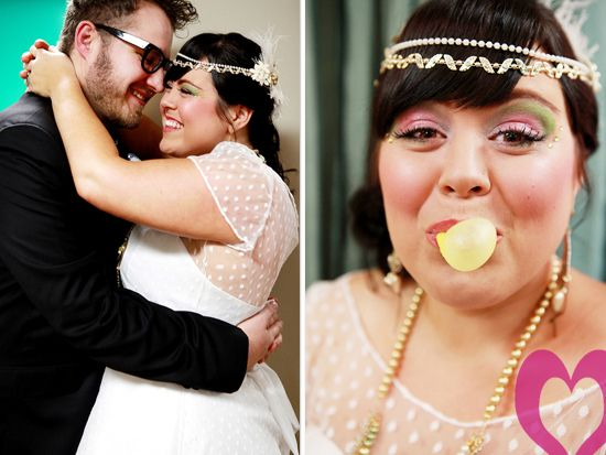 80's wedding; photo by: Jessica Monnich Photography
