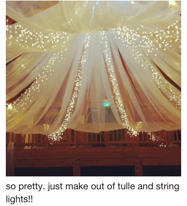 Ceiling decor...if we decide to do it at NDCC