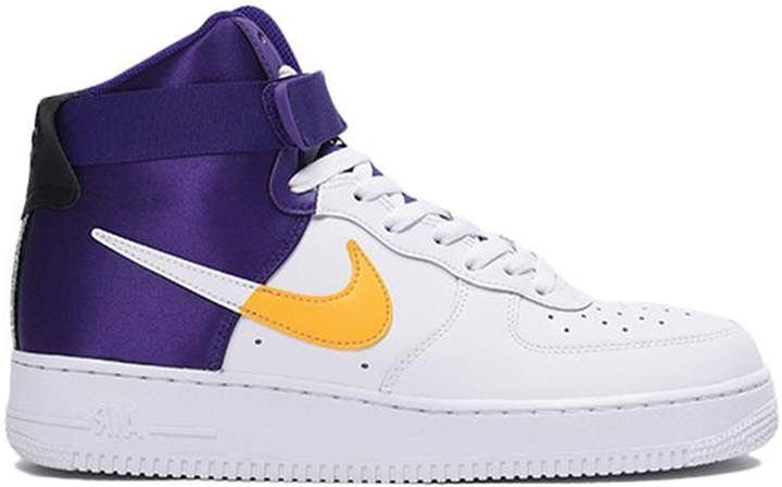 "NBA x Nike Air Force 1 High ""Lakers"" For Sale"