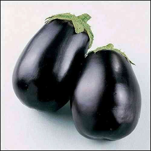 200/bag rare purple and round Eggplant Black Beauty Vegetable Seeds health seed for home garden planting