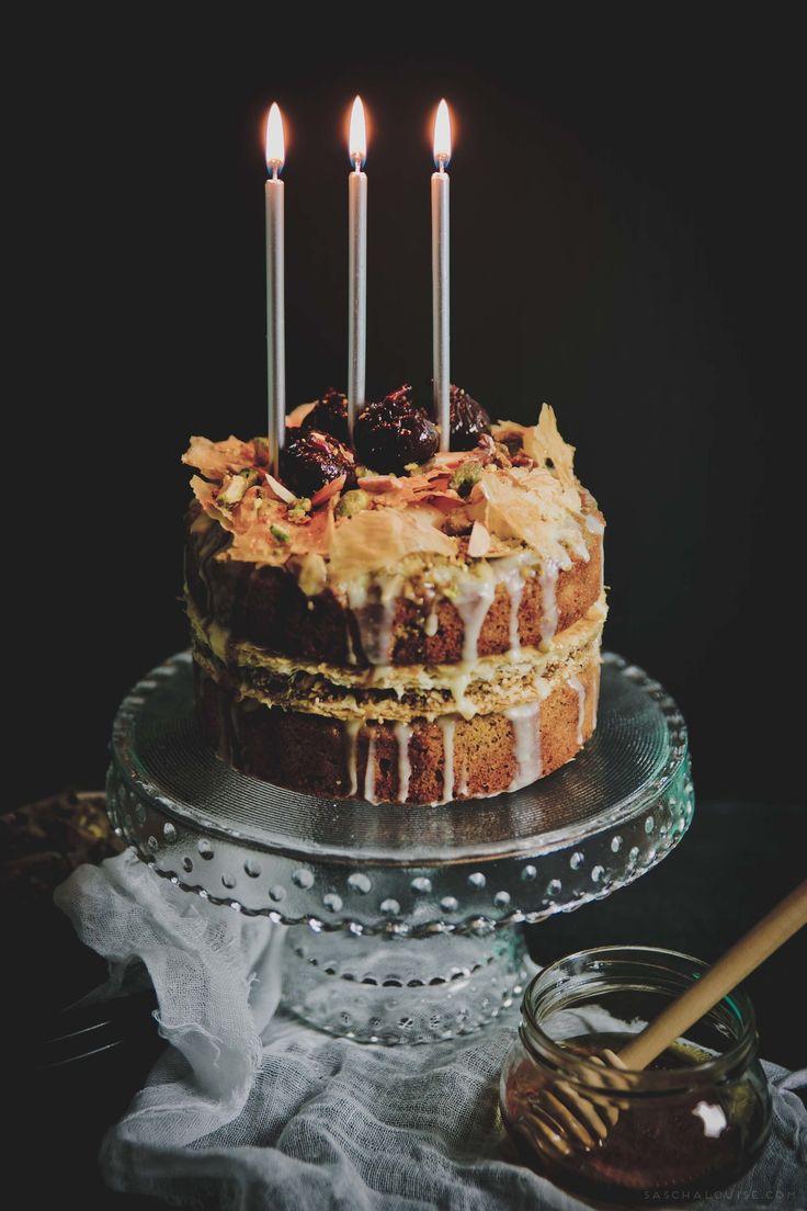 Baklava Cake: