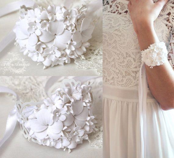 viooltje armband, bloem armband, viooltje juwelen, bruid armband, viooltje corsage, cadeau voor haar, wit corsage, Viooltje corsage