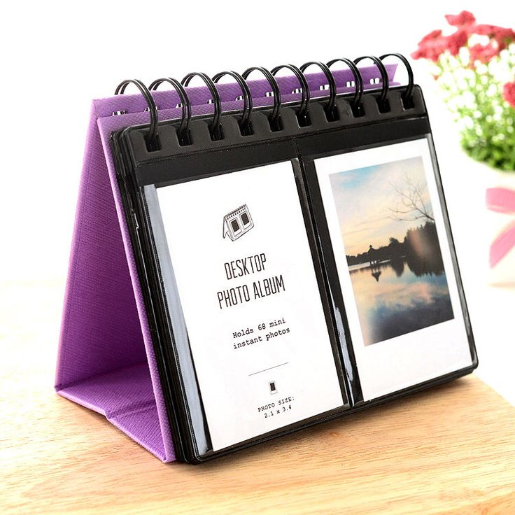 Fujifilm Instax Mini Film Album Polaroid Instant Photo Album Display Stand Purple by MaterialDream on Etsy https://www.etsy.com/listing/254468066/fujifilm-instax-mini-film-album-polaroid
