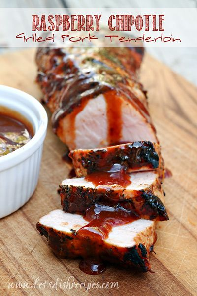 Raspberry Chipotle Pork Tenderloin on MyRecipeMagic.com