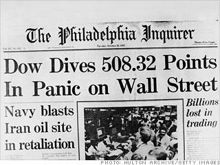 This day in History: Oct 29, 1929: Stock market crashes http://dingeengoete.blogspot.com/ http://2.bp.blogspot.com/_xWlc0nz_Jis/TURVKdj_aSI/AAAAAAAAAE8/QoU7T3b2bDg/s320/1987_crash-gi-home.jpg