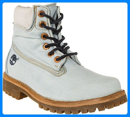 Timberland LTD Fabric 6in NATURAL DENI, WOMAN, Size: 37.5 EU (6.5 US / 4.5 UK) - Bootsschuhe für frauen (*Partner-Link)
