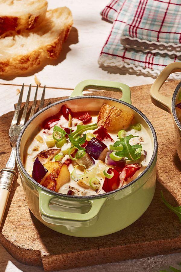 Rezept Cremiges Kartoffelragout mit Bresso mit Oliven & Rosmarin