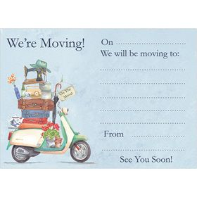 M113 Moving House notecards (pack of 10). www.gailscards.com.au