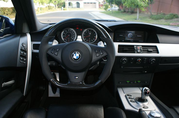 BMW E60 ///M5 Interior 5 Series (2003-2010)  Join me at tomhandy.co