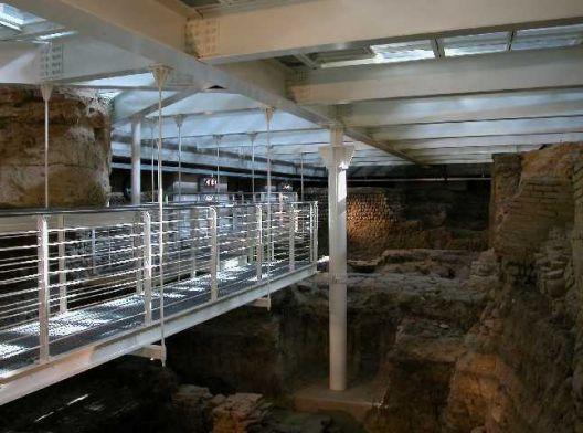 gli scavi archeologici di Salaborsa