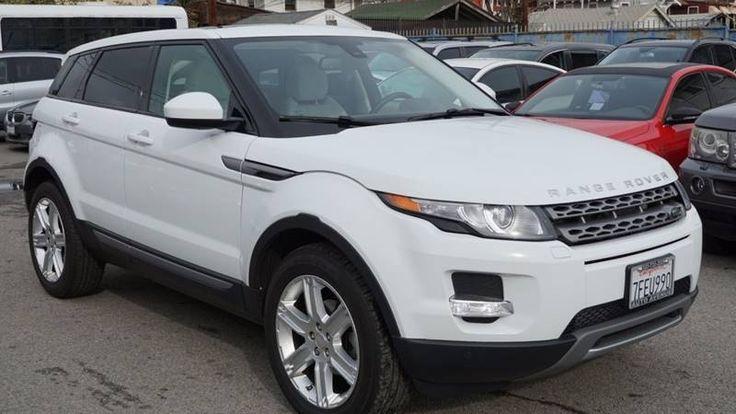 Used Land Rover Range Rover Evoque For Sale - CarGurus