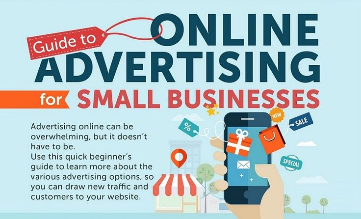 Guide To Internet #Advertising For Small Businesses - #infographic #onlinemarketing from Digital Information World