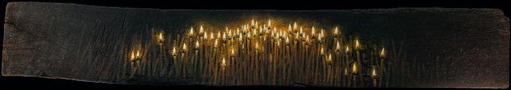 Candles (έργο συλλογής / collection`s artwork) | Felios Collection BOKOROS CHRISTOS
