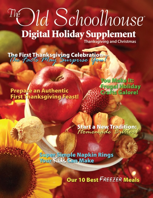 Holiday Supplement From The Old Schoolhouse Magazine
