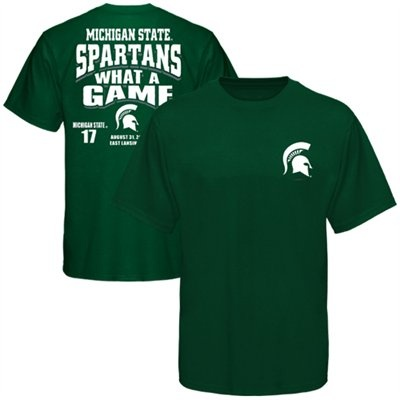 Michigan State Spartans vs. Boise State Broncos 2012 What A Game Score T-Shirt