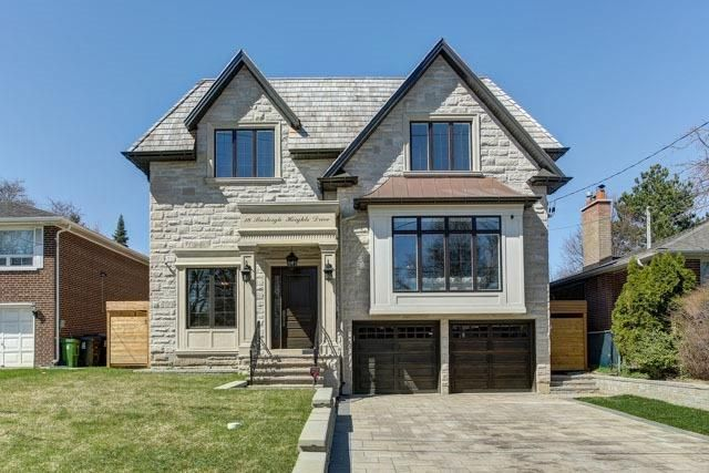 LUXURY HOME: Remarkable Custom Built Home In Prestigious Bayview Village! Beautiful Lay-Out, High Ceilings (11' Main, 10' 2nd) Bayview Ms Earl Haig Ss. District! Smart Home Features. Stunning Trim-Works, Wainscoting, Crown Moulding, Oak Hardwood, Coffered Ceiling! Entrance, Master Ensuite, Rec Room Heated. 4 Fireplaces, 3 Skylights, Walnut Library, Gorgeous Kitchen B/I High-End Appliances. Lrg Island To Entertain! Interlock Driveway. Cedar Roof. Fenced And Decked