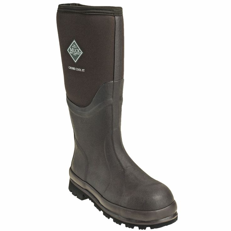 Muck Boots Unisex CSCT STL Brown Chore Cool Steel Toe Waterproof Insul