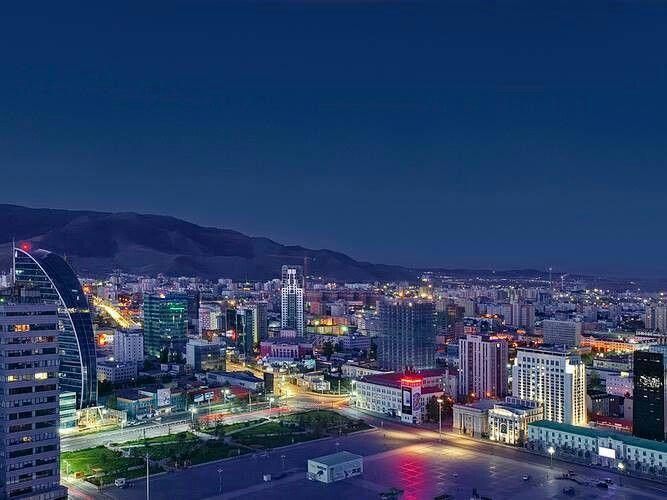 Night Ulaanbaatar | Ulaanbaatar ( The Capital of MONGOLIA ...