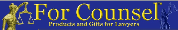 Lawyer Gifts and Legal Products from For Counsel