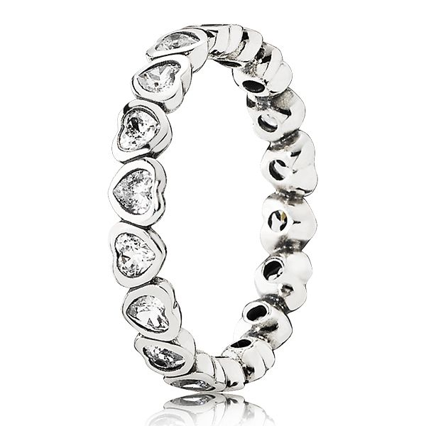 If my husband asks, I would love this... PANDORA Forever More Ring