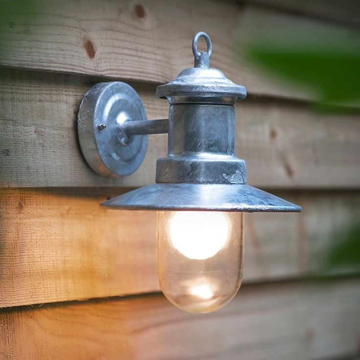 27 best outdoor lighting 2017 images on pinterest exterior exterior st ives galvanised ship light workwithnaturefo