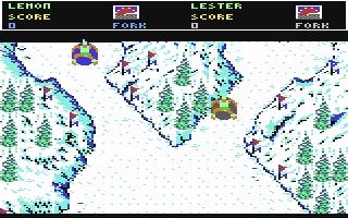 Ski or Die! - Commodore 64