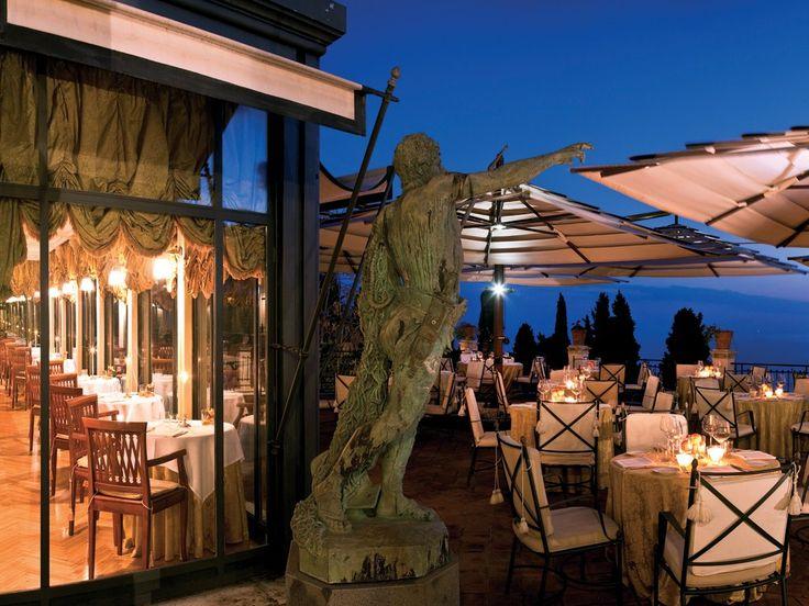 Belmond Grand Hotel Timeo Taormina Sicily Italy Eat At Its Restaurants The Literary Terrace