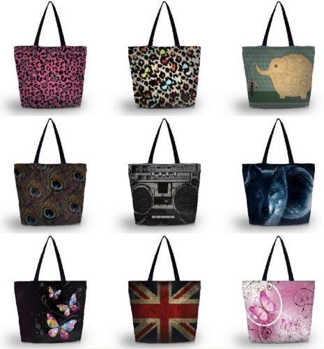 ECO Friendly Cloth Shoulder Hand Bag Multipurpose Handy Foldable Reusable Tote