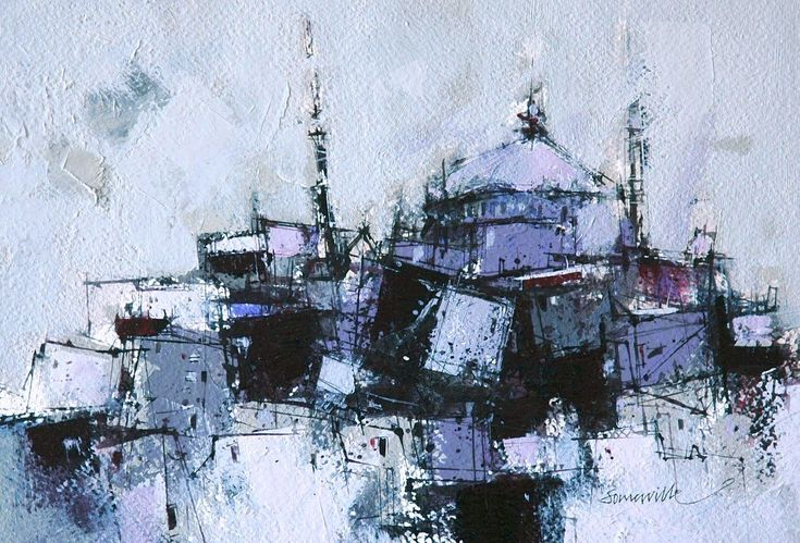 Dusk, Istanbul by James Somerville