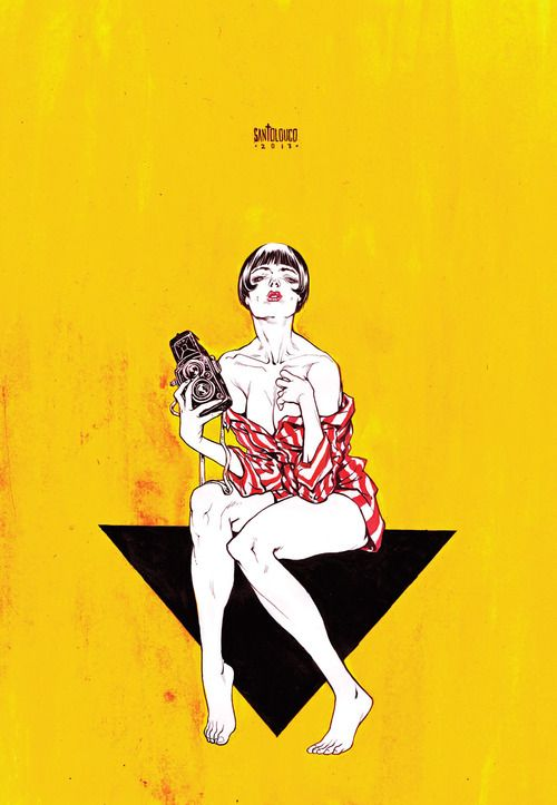 Guido Crepax's Valentina by Mateus Santolouco