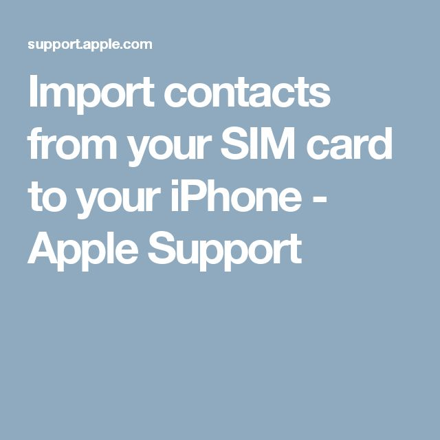 how to delete contacts from sim card on iphone