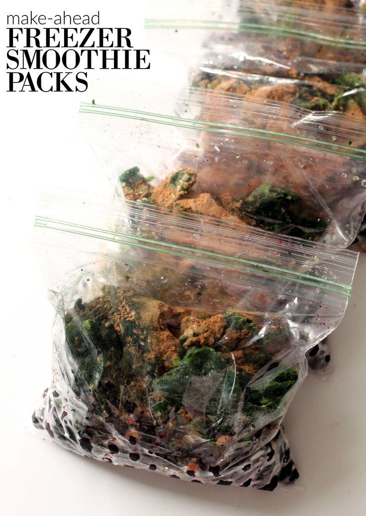 How to Make Freezer Smoothie Packs