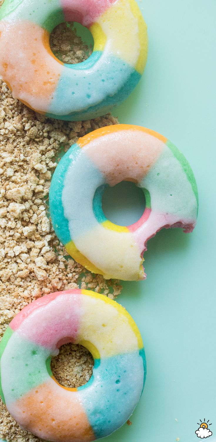 This summer-appropriate recipe turns your average donuts into cute beach ball donuts! Making your own donuts is easier than you might think, and turning them into a beach-themed treat make them the perfect snack to serve at any summer get-together.