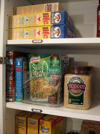 Organizing Our Kitchen Cabinets (Spices, Pantry Items & More | Pantry, Pantry ideas and Organizing