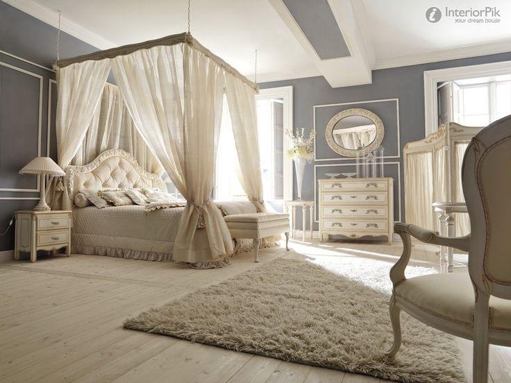 Romantic Luxury Master Bedroom European Style Luxury Villa