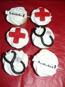 Nurse's cupcakes
