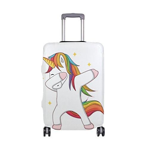 3d4b52f8a Unicorn Dubbing Suitcase Cover White - 4 Sizes Available in 2019 ...