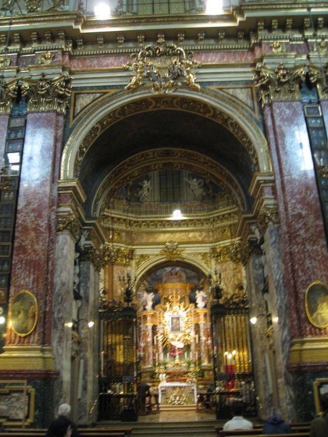 Guarino Guarini. Santuario della Consolata,  Torino. Interior.