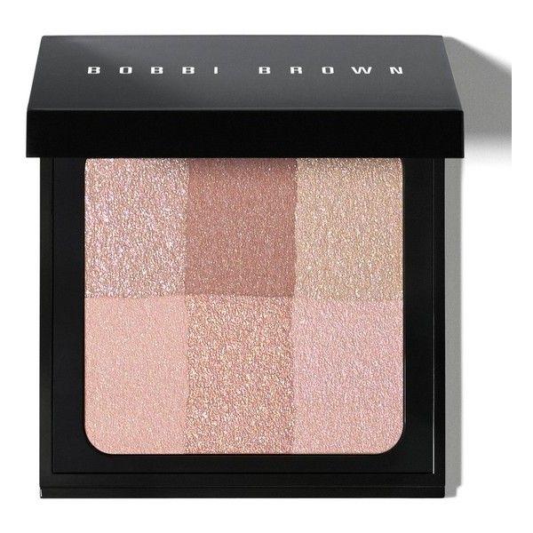Bobbi Brown Brightening Brick/0.23 Oz. ($50) ❤ liked on Polyvore featuring beauty products, makeup, cheek makeup, blush, beauty, blush & bronzers, pink, blender brush, bobbi brown cosmetics and blending brush
