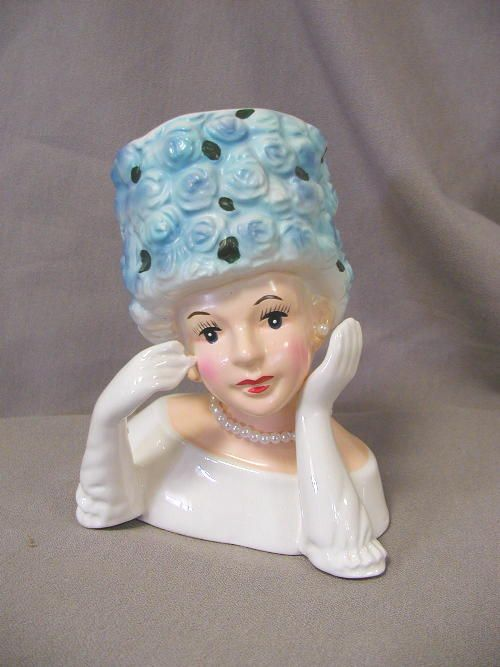 58 Best Antique Head Vases Images On Pinterest Half