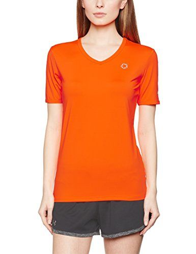 €3.24 in Gr. S * Gregster Damen 11127 T-Shirts, Neo Orange * Sportbekleidung Damen günstig