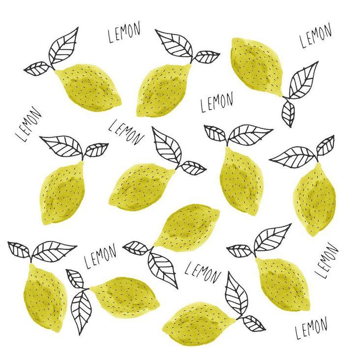 レモンの絵やテキスタイルが好きです。万年筆のブラックインク+カラーインクでシンプルに描くレモン。スキャンしてPhotoshopでランダムに並べています。15分くらいでできちゃう簡単イラスト。 #simplesketch #シンプルスケッチ #LAMY #LAMYsafari #万年筆イラスト #万年筆 #手描きイラスト #レモン #レモンテキスタイル #テキスタイル #兎村彩野