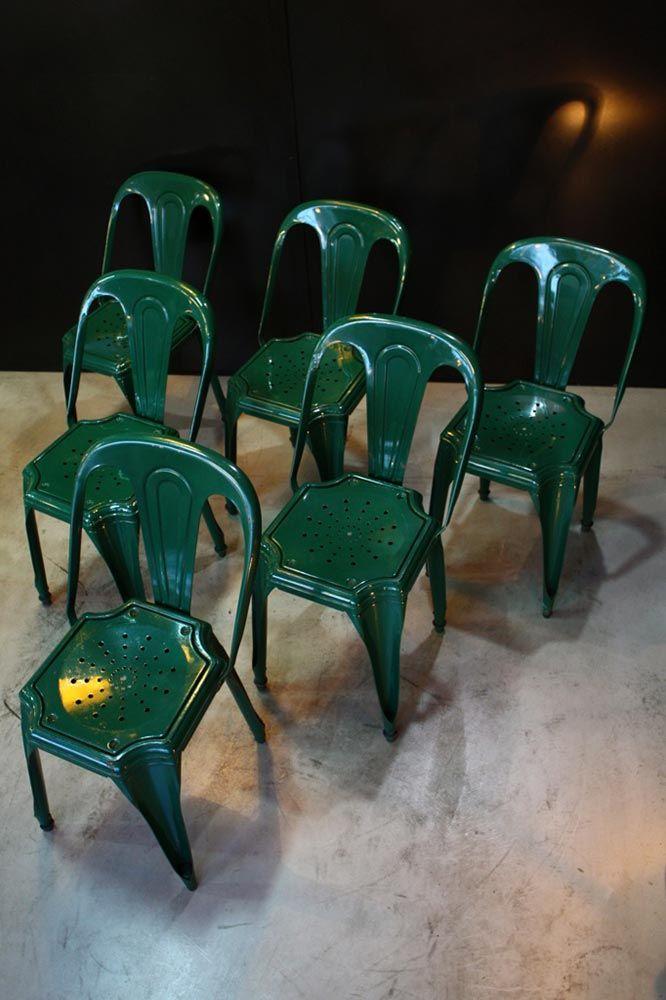 Chaises Industrielles Fibrocit Chaise Industrielle Chaise Meuble De Metier