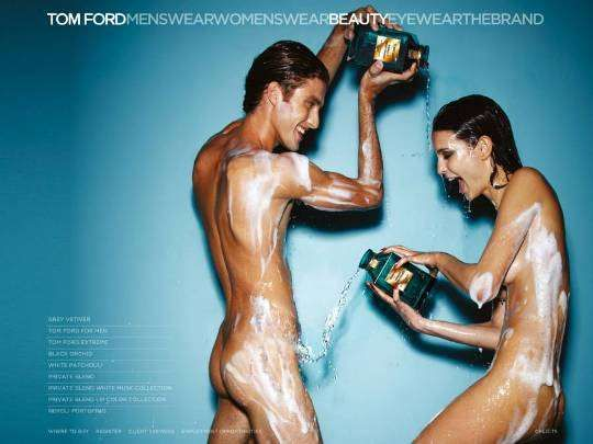 The Tom Ford Neroli Portofino Campaign is Wet and Wild #marketing trendhunter.com