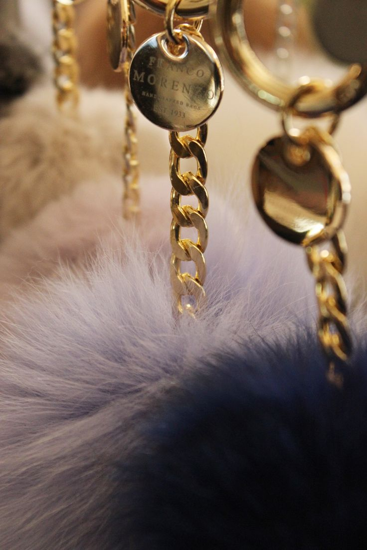 Bag charms. Natural fur. Made in Poland. Franco Morenzo. Premium Leather Wear.
