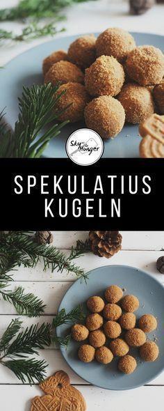 Spekulatius Bälle   – Vegan: Snacks