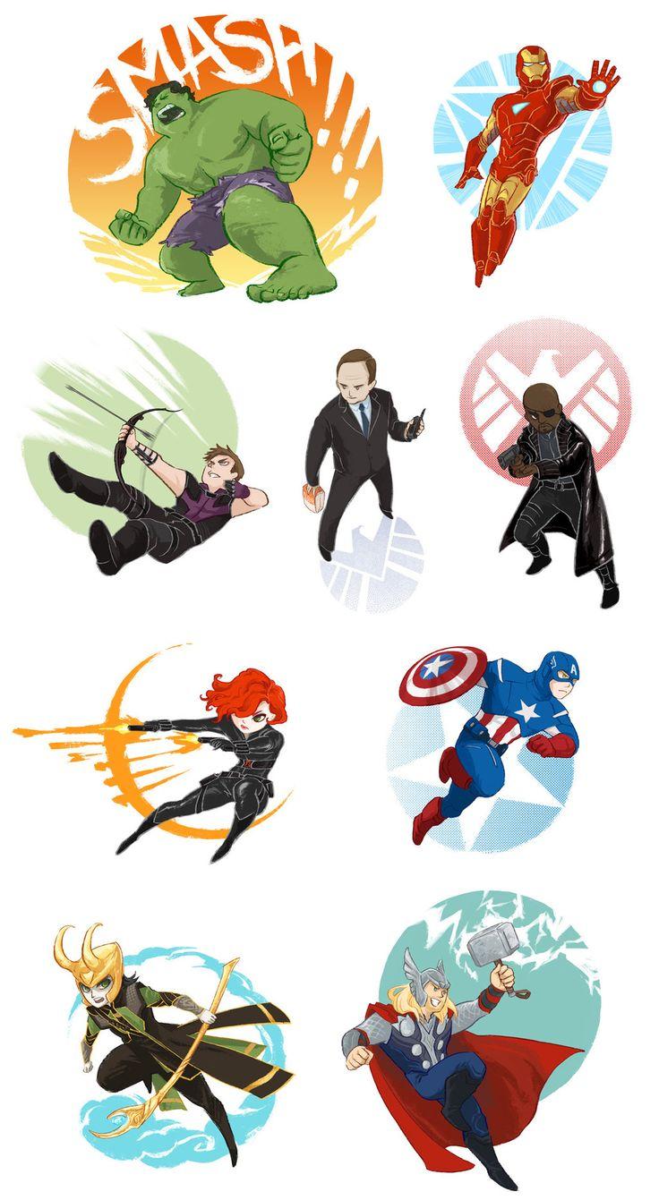 Avengers assemble by beanclam.deviantart.com on @deviantART