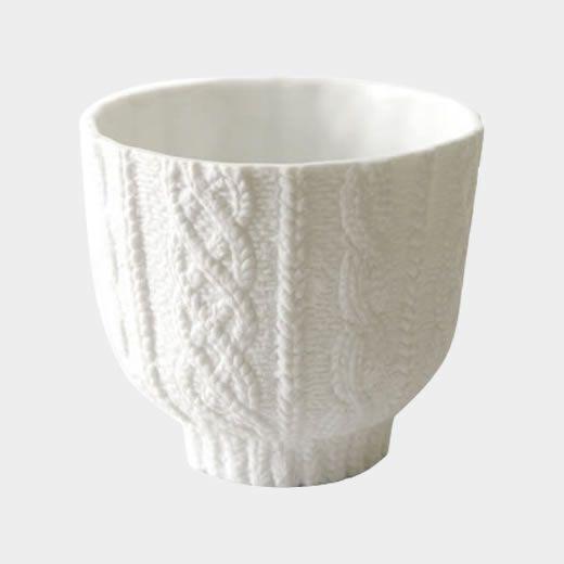 Knit Wear Ceramic Cup